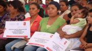 Jefas de familia inscritas en el programa | Foto: Especial