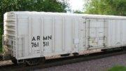 Vagón ferroviario con sistema frigorífico | Foto: Especial