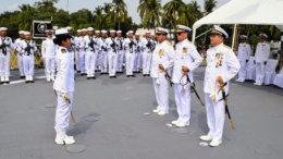 La entrega-recepción del Mando de Armas de la Fuerza Naval del Pacífico | Foto: Especial