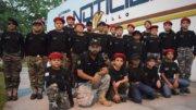 Escuadrón Mantis de visita de cortesía en las oficinas de El Noticiero de Manzanillo