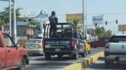 Rondín policiaco en la ciudad | Foto: El Noticiero de Manzanillo