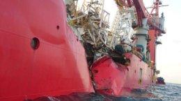 El buque Star Centurion terminó hundiéndose tras el impacto | Foto: Splash247