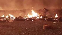 Algunos pobladores murieron al instante tras la explosión del ducto | Foto: Especial