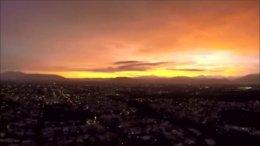 Atardecer de Colima   Foto: Especial