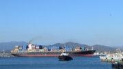 Buque transportando carga en el puerto de Manzanillo | El Noticiero de Manzanillo