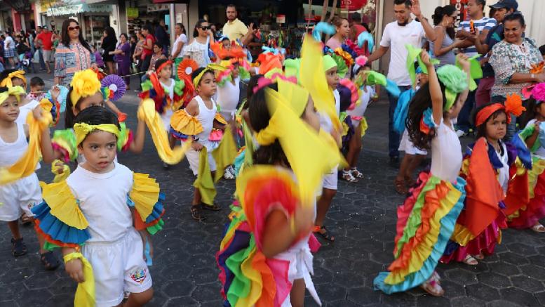 Carnavalito Colima 2018   Foto: Especial