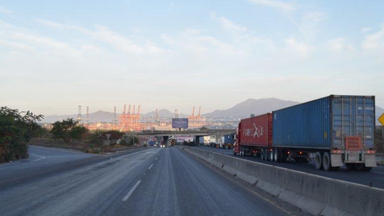 Entrada al puerto de Manzanillo | Foto: El Noticiero de Manzanillo