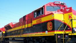 Ferrocarril de la compañía KCSM | Foto: Especial