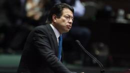 Mario Delgado Carrillo, coordinador de los diputados federales de Morena | Foto: Especial