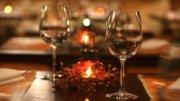 Cena romántica filantrópica | Foto: Especial