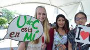 Alumnos fueron bienvenidos con una kermés   Foto: Universidad de Colima