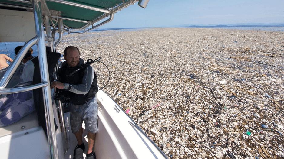 Basura en el mar | Foto: Especial