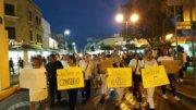Manifestaciones por asesinato de mujeres mayores del barrio EL Refugio | Foto: Especial