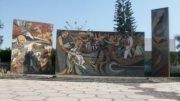 Mural afuera del Paraninfo, Universidad de Colima | Foto: Especial