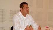 Ricardo Peralta Saucedo, administrador general de Aduanas. | Foto: El Noticiero de Manzanillo