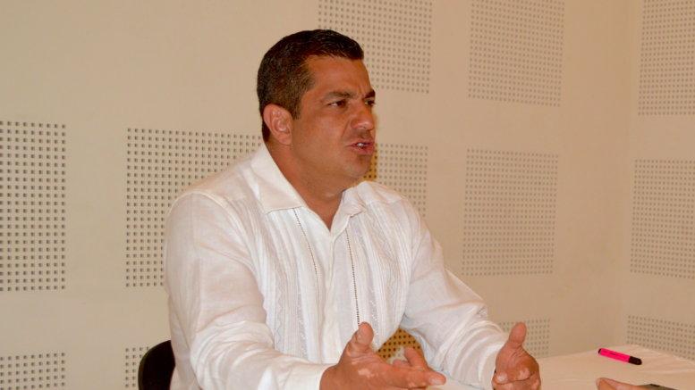 Ricardo Peralta Saucedo, administrador general de Aduanas.   Foto: El Noticiero de Manzanillo