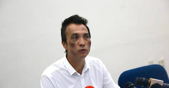 Efraín Angulo Rodríguez, en rueda de prensa. | Foto: Especial