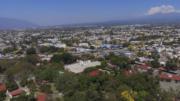 Vista aérea de la ex zona militar en la ciudad de Colima | Foto: Especial