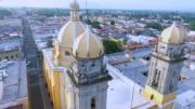Vista aérea de Catedral Basílica Menor Colima | Foto: El Noticiero de Colima