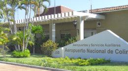 Aeropuerto Nacional de Colima   Foto: especial