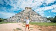 Turista en Chichén Itzá   Foto: Especial