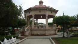 Jardín principal de Cuauhtémoc | Foto: especial.