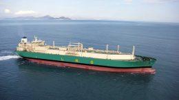 El buque-tanque gasero LNG Lokoja | Foto: Especial