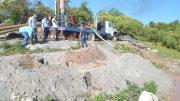 Construcción de pozos en Cuauhtémoc   Foto: Ayuntamiento de Cuauhtémoc
