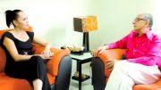Entrevista a Martha Zepeda con el director del periodico El Noticiero de Colima, Carlos Valdez | Foto: El Noticiero de Manzanillo