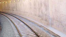 Túnel ferroviario   Foto: especial