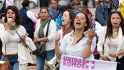 Mujeres protestando   Foto: Especial