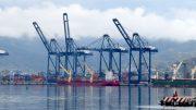Buque en la TEC-I del Puerto de Manzanillo   Foto: William Valdez Verduzco