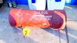 Cocaína encontrada dentro de este contenedor que iba dentro del buque | Foto: especial