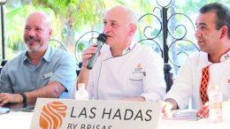 Chef Guy Santoro en conferencia de Manzanillo | Foto: El noticiero