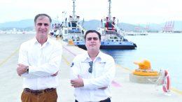 Marcelo Jullian Roig, director general de Remolcadores Portuarios Mexicanos, entrevistado por el periodista William Valdez Verduzco | Foto: especial