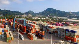 Recinto Fiscalizado Estratégico de SSA México en el puerto de Manzanillo   Foto: Especial