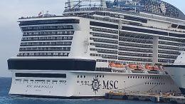 """Crucero """"Meraviglia""""   Foto: Especial"""