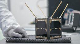 Nanosatelite Aztechsat-1 mexicano | Foto: Especial