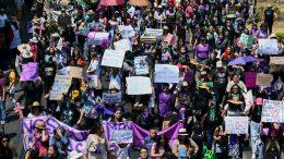 Marcha feminista | Foto: especial