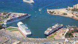 Marina de cruceros de Puerto Vallarta   Foto: especial
