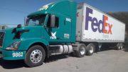 El Hallazgo de droga fue en un camión de paquetería | Foto: Especial