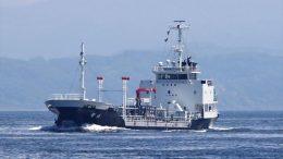 El buque petrolero sufrió algunos daños en el estribor | Foto: Especial