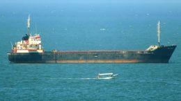 El buque navegaba en aguas taiwaneses de Taichung a Taipei | Foto: Especial