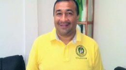 Joel Salgado Acosta, Dirigente del sindicato de trabajadores del Ayuntamiento de Manzanillo   Foto: Especial