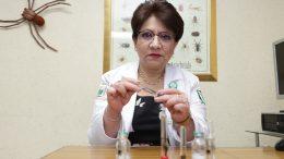 La doctora María del Carmen Sánchez Villegas, jefa del Centro de Información y Asistencia Toxicológica | Foto: Especial