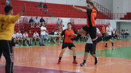 Colimenses en ejecución del Handball | Foto: especial