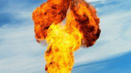 De forma controlada, la quema de gas natural se prolongará durante 88 horas, para liberar el energético residual en la terminal | Foto: El Noticiero