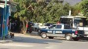 Foto del lugar de los hechos del asesinato a donde acudieron las autoridades | Foto: especial