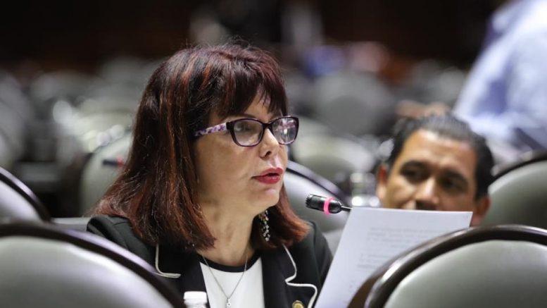 La diputada aclaró que es falso que el Gobierno de México utilice sitios web no oficiales como intermediarias para tramitar tarjetas o apoyos   Foto: Especial