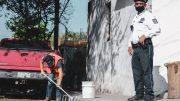 El infractor fue enviado a El Chanal para que realizara limpia y pinta de machuelos para resarcir su falta.